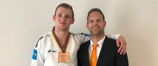 Kylian Bulthuis wint brons in Kaunas