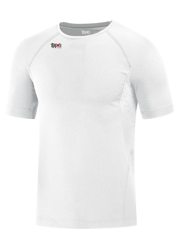 Ippon Gear Compression T-shirt korte mouw wit