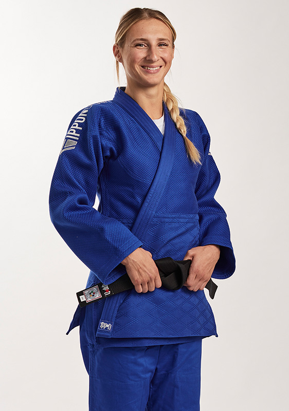 Ippon Gear Fighter Legendary Slim Fit judojas Blauw