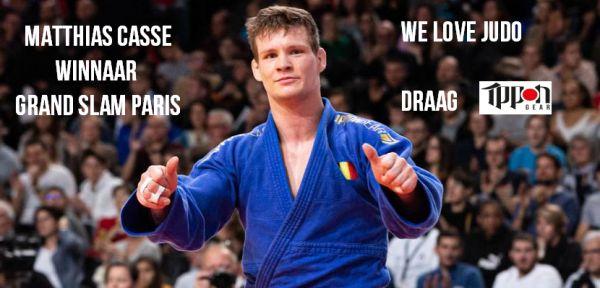 Matthias Casse wint in Parijs