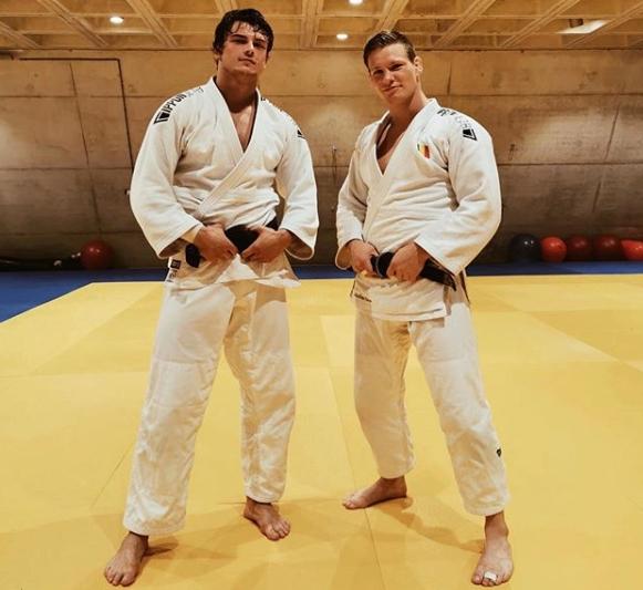 Judoka's mogen weer los in de zaal