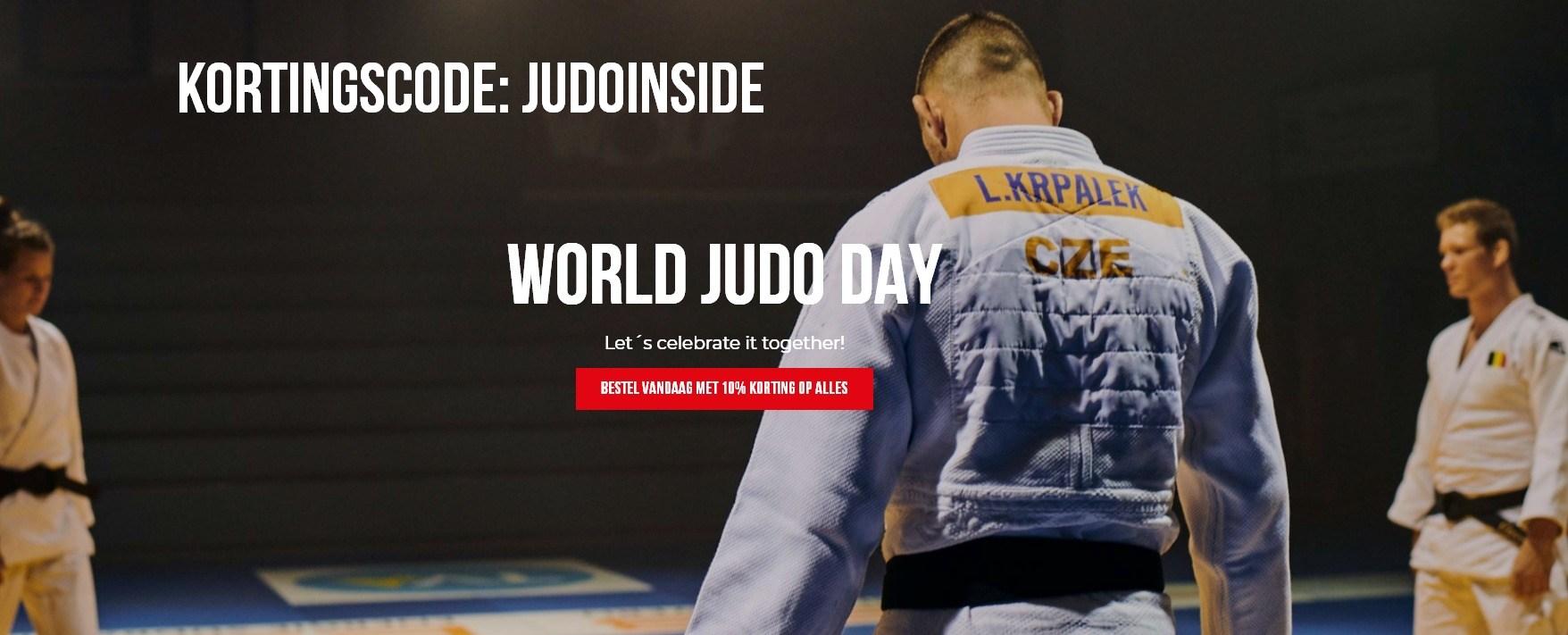 Judopak kopen op World Judo Day