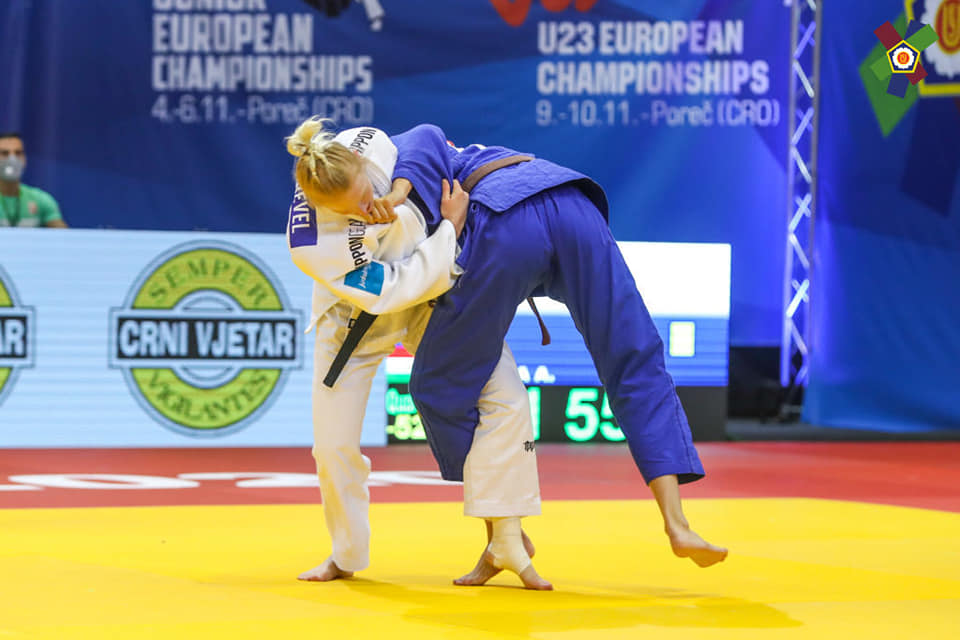 Naomi van Krevel pakt zilver in IPPON GEAR