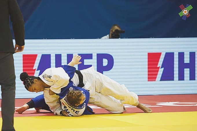 Kim Hooi pakt zilver in IPPON GEAR
