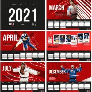 Judo kalender 2021