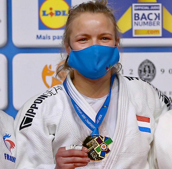 Sanne van Dijke naar de Spelen na Europese titel